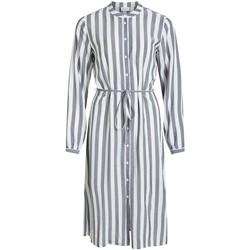 Vêtements Femme Robes longues Vila  Gris
