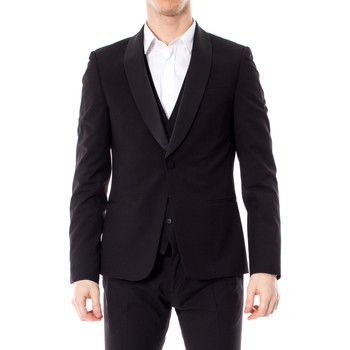 Vêtements Homme Vestes / Blazers Antony Morato MMJA00402-FA600104 Noir