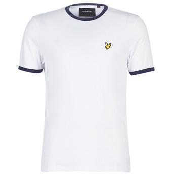 Vêtements Homme T-shirts manches courtes Lyle & Scott TS705V Blanc