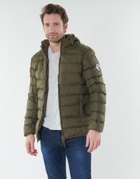 Vêtements Homme Doudounes Geographical Norway BALANCE-KAKI Kaki