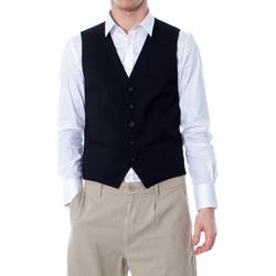 Vêtements Homme Gilets de costume Selected 16052660 Noir
