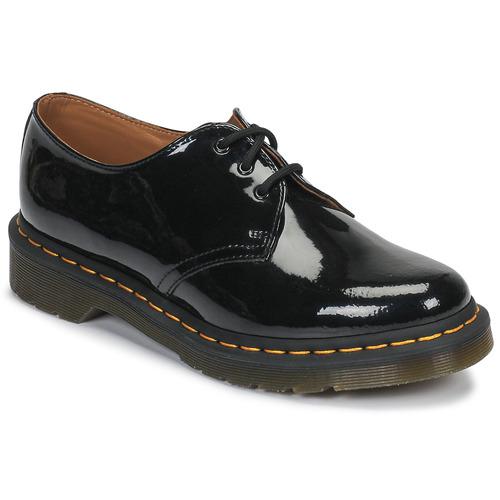 Dr Martens 1461 PW Rouge cerise - Chaussures Derbies Homme