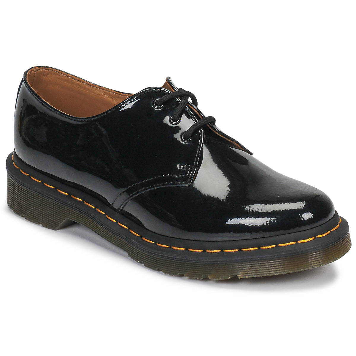 dr martens 1461 noir livraison gratuite avec chaussures derbies femme 98 10. Black Bedroom Furniture Sets. Home Design Ideas