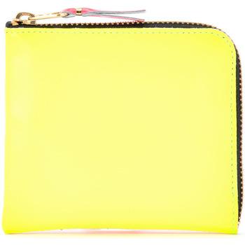 Sacs Femme Portefeuilles Comme Des Garcons Portafoglio  in pelle gialla e Multicolor
