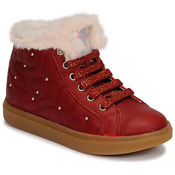 Chaussures Fille Baskets montantes Pablosky 476362 Rouge
