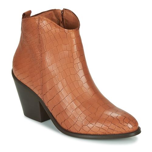Chaussures Femme Bottines Fericelli LISA Marron