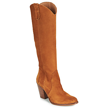 Chaussures Femme Bottes ville Fericelli LUNIPIOLLE Camel