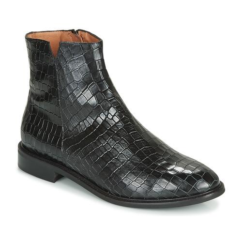 Chaussures Femme Boots Fericelli LANAELLE Noir