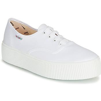 Chaussures Femme Baskets basses Victoria 1915 DOBLE LONA Blanc