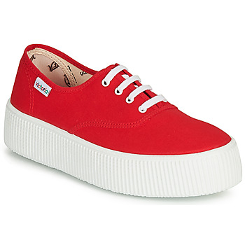 Chaussures Femme Baskets basses Victoria 1915 DOBLE LONA Rouge
