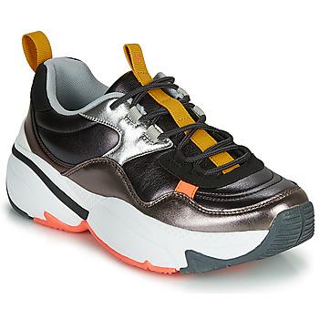 Chaussures Femme Baskets basses Victoria AIRE MULTI Noir