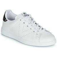 Chaussures Femme Baskets basses Victoria TENIS PIEL Blanc