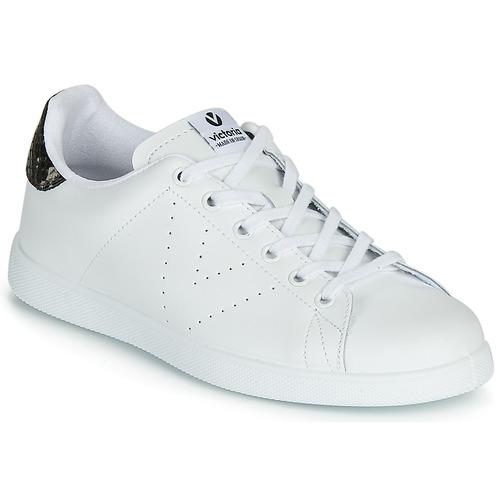 Victoria Basses Baskets Femme Piel Blanc Tenis IEYDH29W