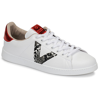 Chaussures Femme Baskets basses Victoria TENIS PRINT Blanc