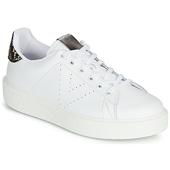 Chaussures Femme Baskets basses Victoria UTOPIA RELIEVE PIEL Blanc