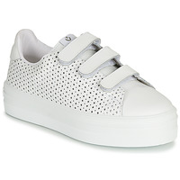 Chaussures Femme Baskets basses Victoria BARCELONA PIEL PERFORA Blanc