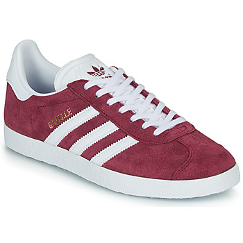 Chaussures Baskets basses adidas Originals GAZELLE Bordeaux