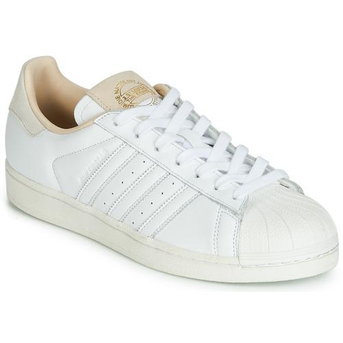 adidas blanche superstar original