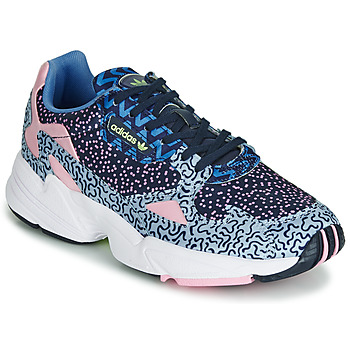 Chaussures Femme Baskets basses adidas Originals FALCON W Bleu / rose