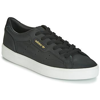 Chaussures Femme Baskets basses adidas Originals SLEEK W Noir