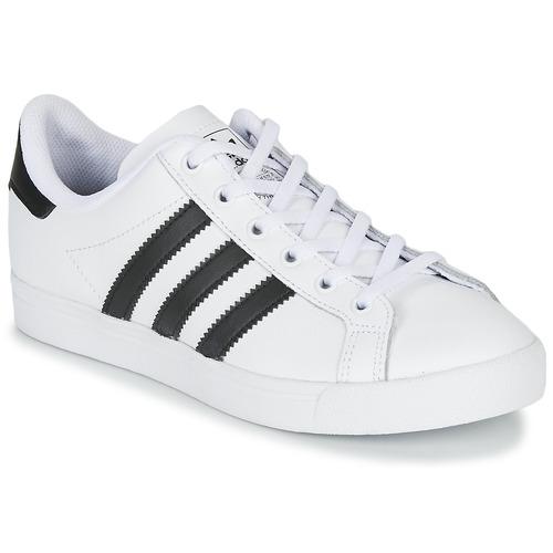 Chaussures Enfant Baskets basses adidas Originals COAST STAR J Blanc / Noir