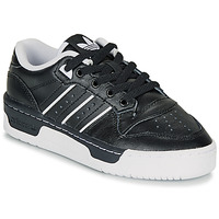 Chaussures Enfant Baskets basses adidas Originals RIVALRY LOW J Noir