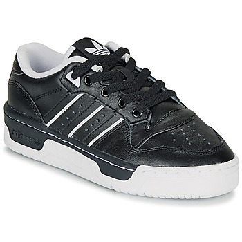 Chaussures Enfant Baskets basses adidas Originals RIVALRY LOW J Noir
