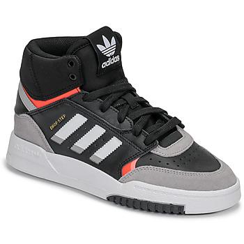 Chaussures Garçon Baskets basses adidas Originals DROP STEP J Noir / gris