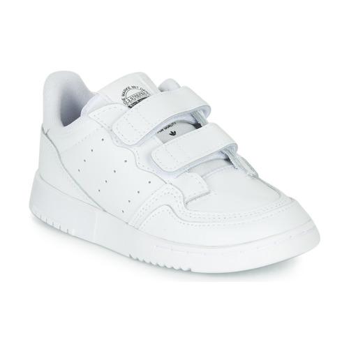 Chaussures Enfant Baskets basses adidas Originals SUPERCOURT CF I Blanc