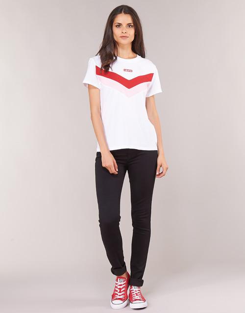 Vêtements Femme Jeans skinny Levi's 721 HIGH RISE SKINNY Long shot