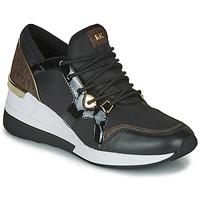 Chaussures Femme Baskets basses MICHAEL Michael Kors LIV TRAINER Noir / Marron
