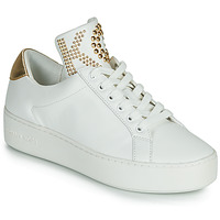 Chaussures Femme Baskets basses MICHAEL Michael Kors MINDY LACE IP Blanc