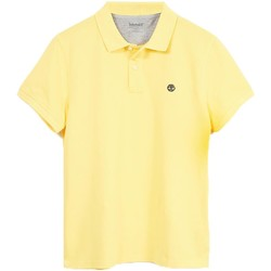Vêtements Homme Polos manches courtes Timberland MILLERS RIVER GIALLA jaune