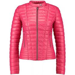 Vêtements Femme Doudounes Guess veste Vona rose tyrien W81L00
