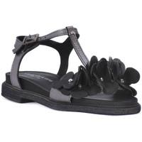 Chaussures Femme Sandales et Nu-pieds Sono Italiana NERO LAMINATO Nero