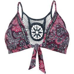 Vêtements Femme Maillots de bain séparables Brigitte Bardot Haut de maillot triangle bordeaux/noir Bomba Noir