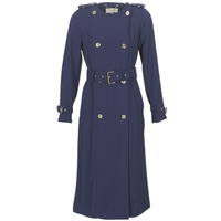 Vêtements Femme Trenchs MICHAEL Michael Kors COLLARLESS TRENCH Marine