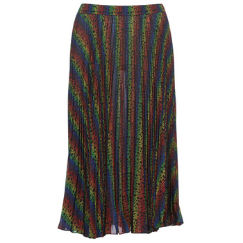 Vêtements Femme Jupes MICHAEL Michael Kors MULTI LOGO PLEAT SKRT Multicolore