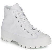 Chaussures Femme Baskets montantes Converse CHUCK TAYLOR ALL STAR LUGGED BASIC CANVAS Blanc