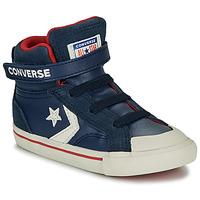 Chaussures Enfant Baskets montantes Converse PRO BLAZE STRAP - HI Navy