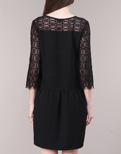 LUUNA  Betty London  robes courtes  femme  noir