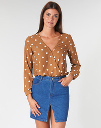 Vêtements Femme Tops / Blouses Betty London LOUISIANA Camel