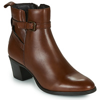 Chaussures Femme Bottines Betty London LEONA Cognac