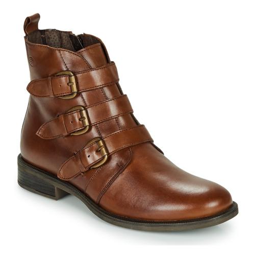 Chaussures Femme Boots Betty London LENA Cognac