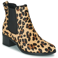 Chaussures Femme Bottines Betty London HASNI Leopard