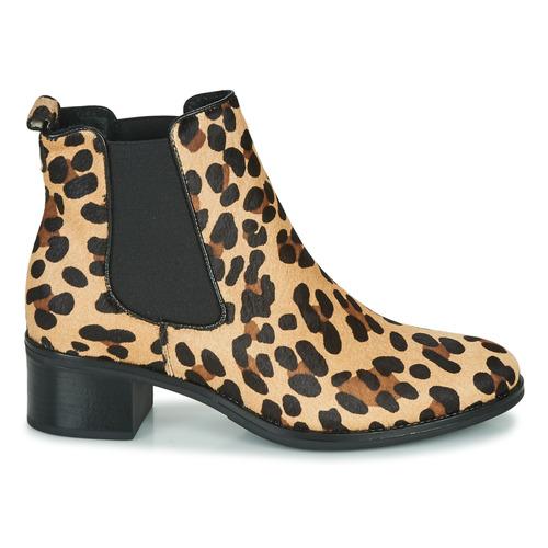 Betty Chaussures Hasni Bottines Femme London Leopard RjS4Lqc3A5