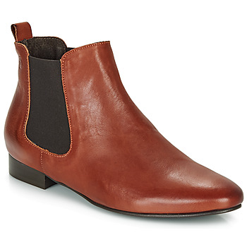 Chaussures Femme Boots Betty London HYBA Cognac