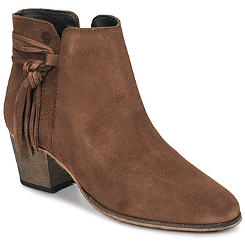Chaussures Femme Boots Betty London HEIDI Cognac
