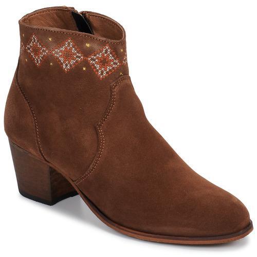 Chaussures Femme Bottines Betty London LAURE-ELISE Camel