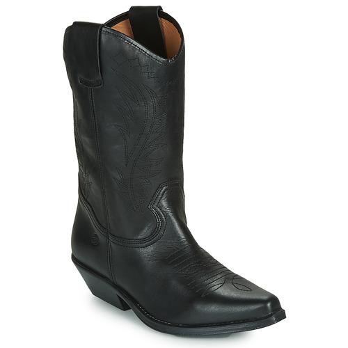 Chaussures Femme Bottes ville Betty London LOVA Noir